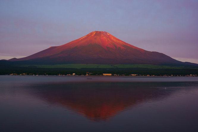 富士山「赤富士」