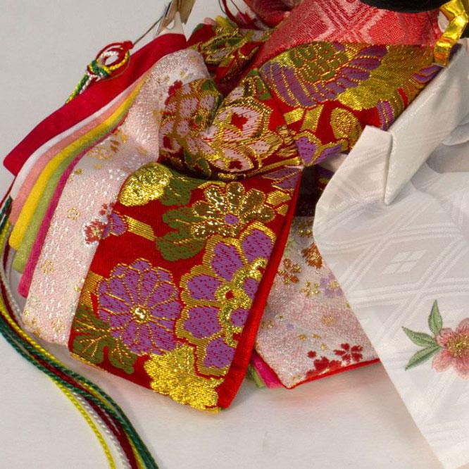ひな人形 五人収納箱飾り 4H16-GP-016A 女雛(横)