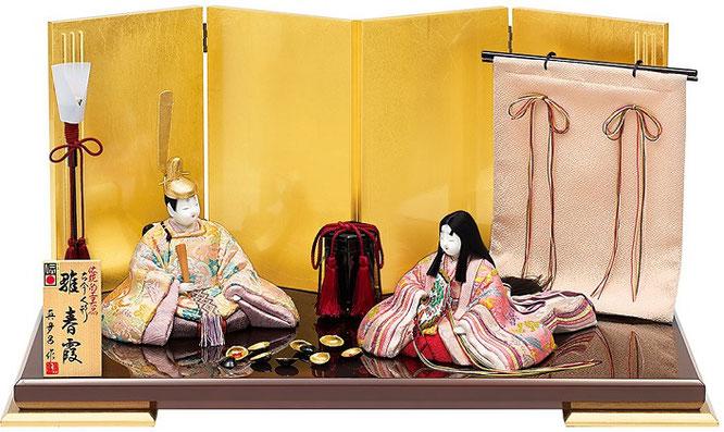 真多呂人形 親王飾り「春霞セット」 品番:1283
