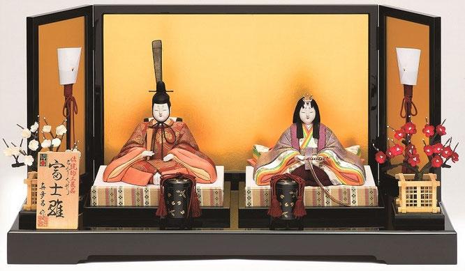真多呂人形 親王飾り「富士雛セット」品番:1297 伝統的工芸品