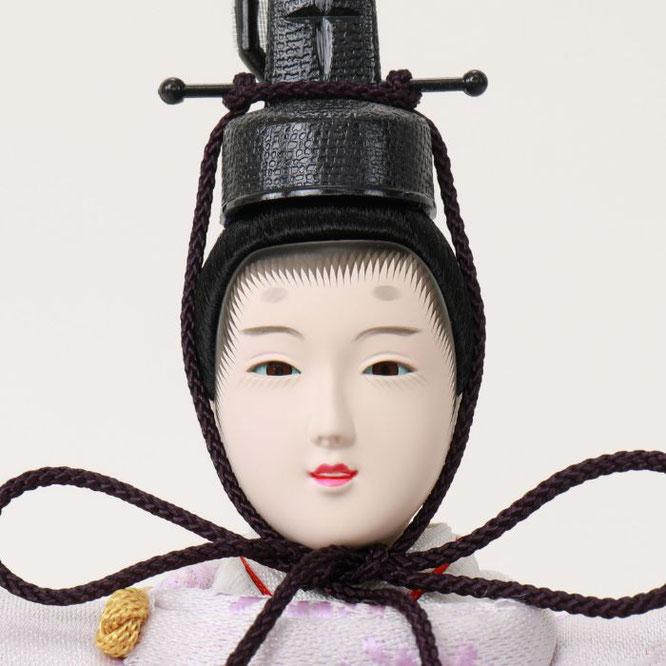 ひな人形 親王収納箱飾り 4H12-GP-064G 男雛(正面)
