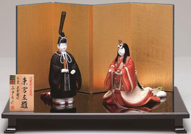 真多呂人形「東宮立雛セット」品番:1172 伝統的工芸品