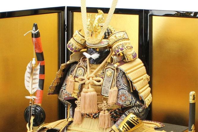平安光雲作「京製 大鎧12号平飾り」 鎧単品