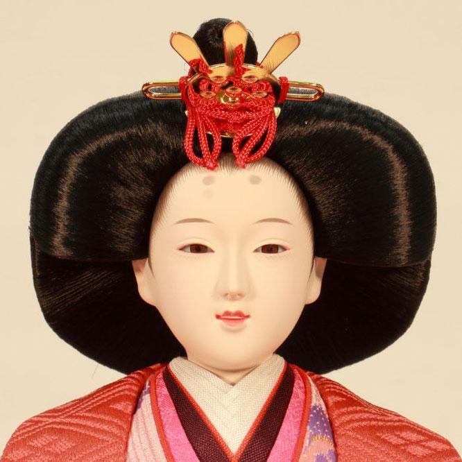 ひな人形 五人飾り 4H15-GP-008A 女雛(正面)