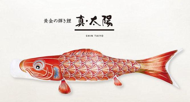 鯉のぼり「真・太陽」