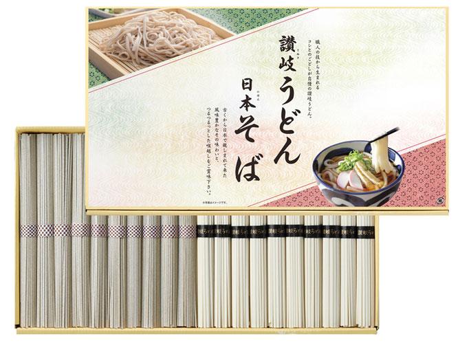 初盆用返礼品 讃岐うどん・日本そば 2,160円