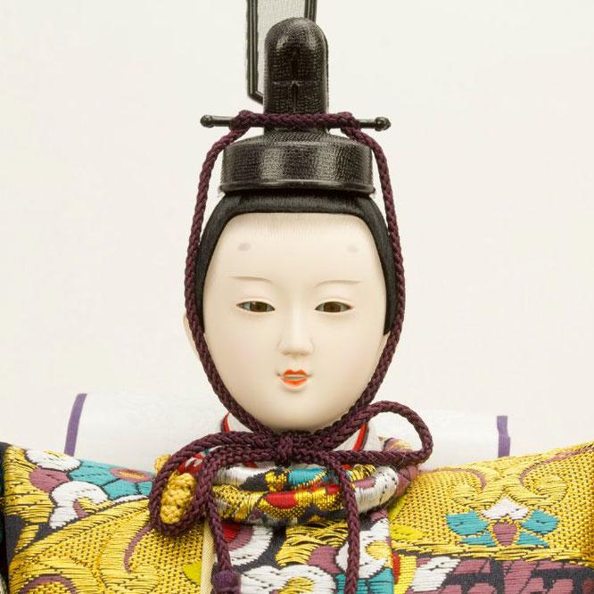 ひな人形 五人飾り 4H15-GP-001 男雛(顔)