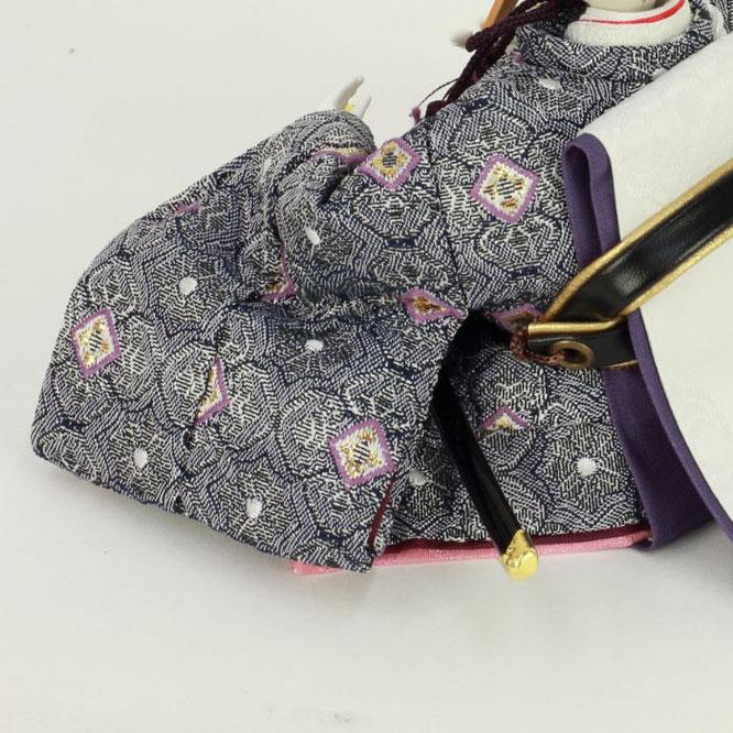 ひな人形 親王収納箱飾り 4H12-GP-066A 男雛(横)