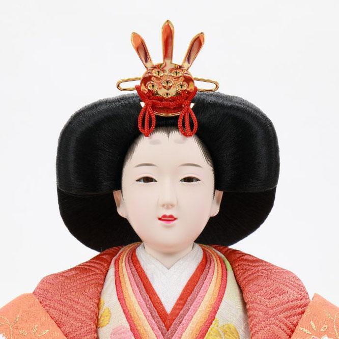 ひな人形 五人飾り 4H15-GP-007 女雛(顔)