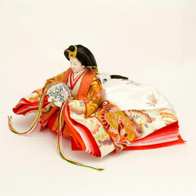 ひな人形 五人飾り 4H15-GP-002 女雛(横)