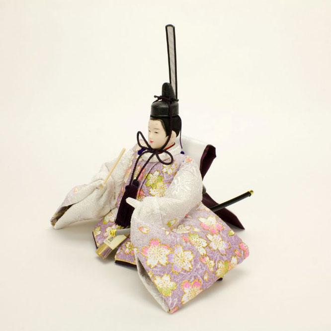 ひな人形 親王収納箱飾り 4H12-GP-072A 男雛(横)