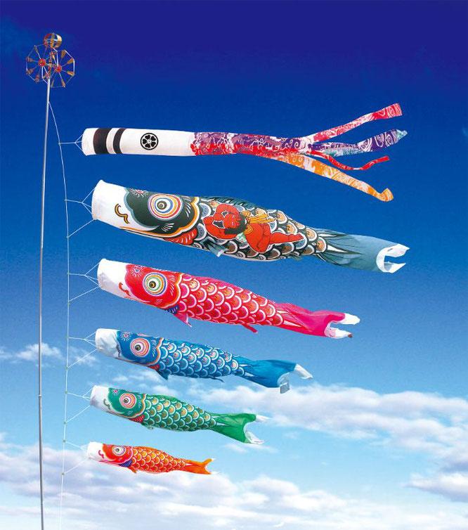 大型鯉のぼり「錦龍」