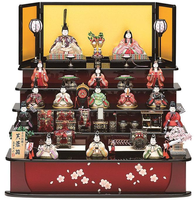 真多呂人形「芙蓉雛15人飾り」品番:1315
