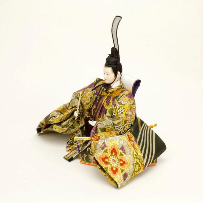 ひな人形 五人飾り 4H15-GP-002 男雛(横)