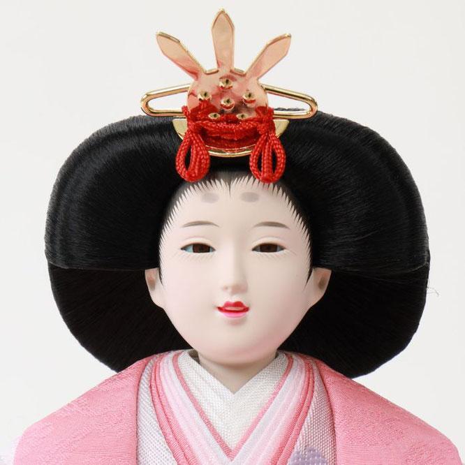 ひな人形 親王飾り 4H11-GP-035 女雛(正面)