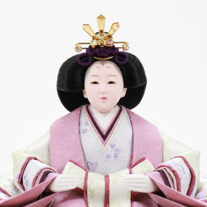 ひな人形 五人収納箱飾り 4H16-GP-027 女雛(顔)