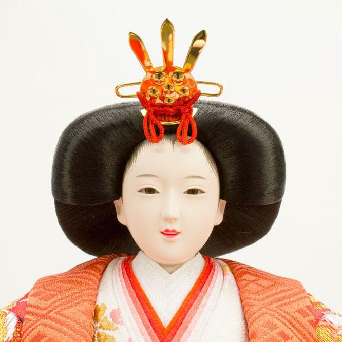 ひな人形 五人飾り 4H15-GP-004 女雛(顔)