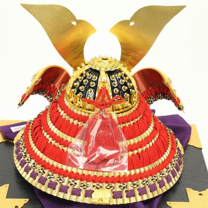 平安光雲作「京製 兜10号平飾り」 兜の背面