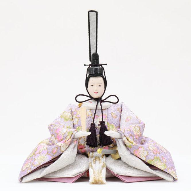 ひな人形 五人収納箱飾り 4H16-GP-025 男雛(正面)