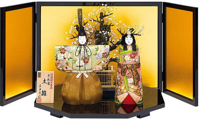 真多呂人形「光雲立雛セット」品番:1151