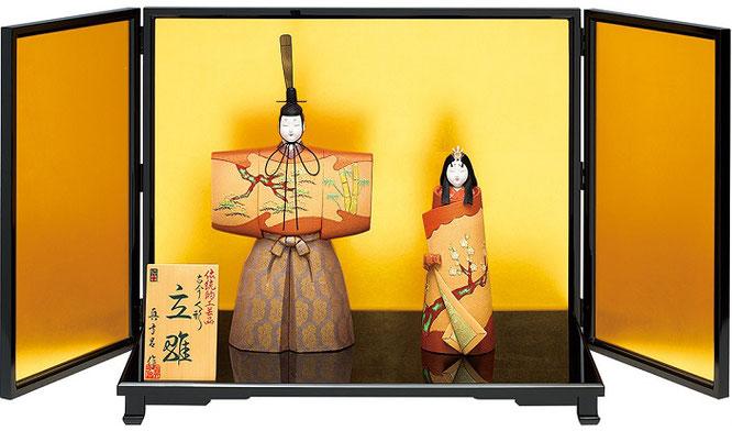 真多呂人形「御慶事立雛セット」品番:1101