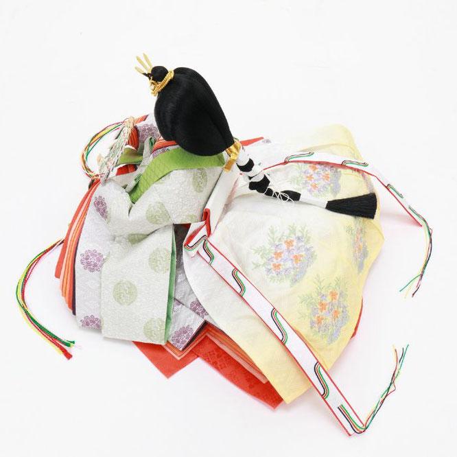 ひな人形 五人飾り 4H15-GP-005 女雛(横)