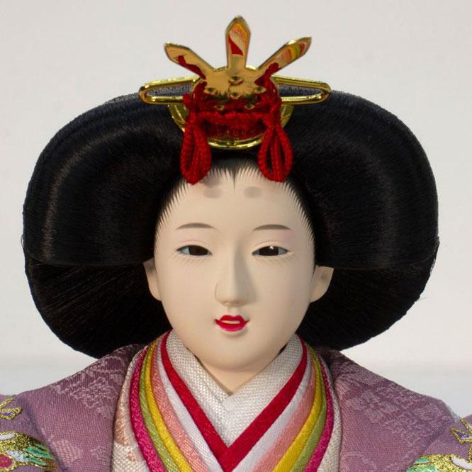 ひな人形 親王飾り 4H11-GP-050A 女雛(正面)