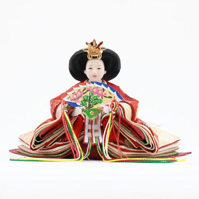 ひな人形 五人飾り 4H15-GP-032 女雛(正面)