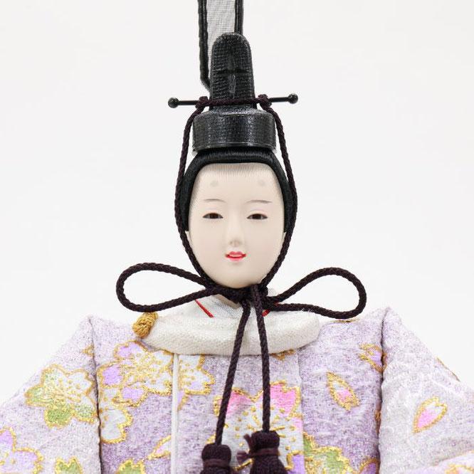 ひな人形 五人収納箱飾り 4H16-GP-025 男雛(顔)