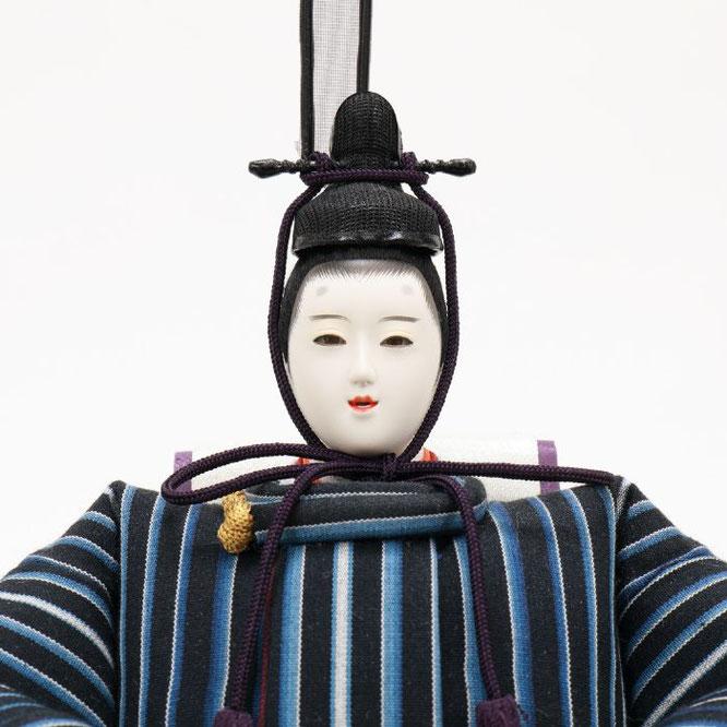 ひな人形 親王飾り(博暁作)4H11-GP-052 男雛(顔)