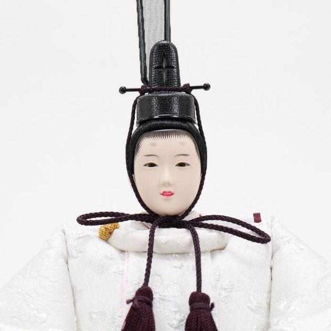 ひな人形 五人収納箱飾り 4H16-GP-022 男雛(顔)