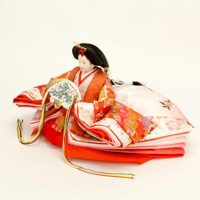 ひな人形 五人飾り 4H15-GP-004 女雛(横)
