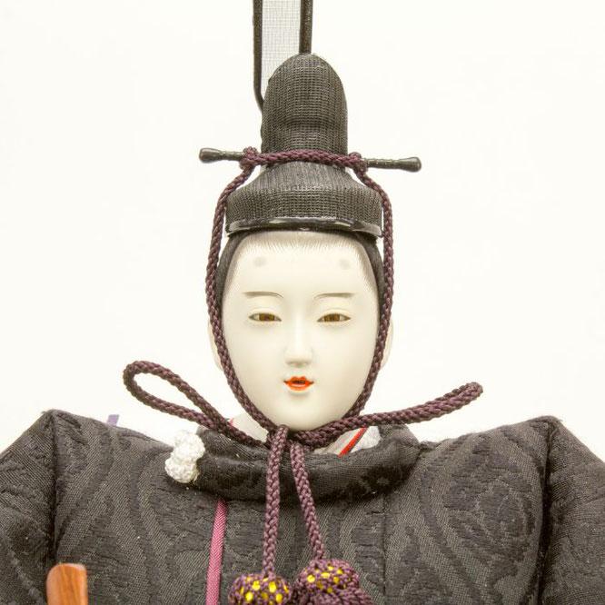 ひな人形 立雛飾り 4H13-GP-302 男雛(顔)