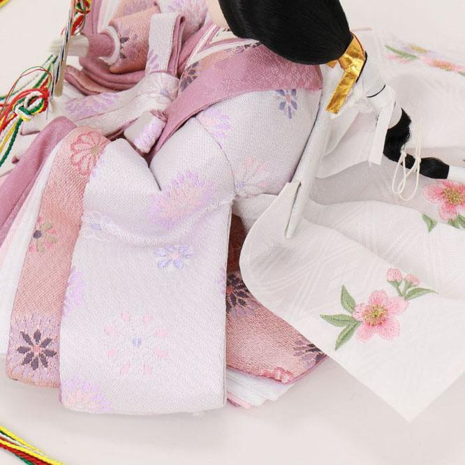 ひな人形 親王収納箱飾り 4H12-GP-064G 女雛(横)