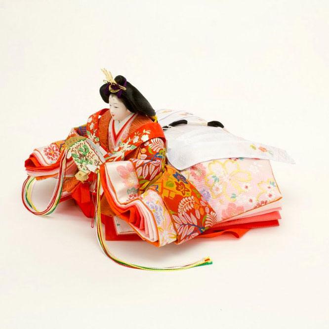 ひな人形 十五人飾り 4H18-GP-901A 女雛(横)