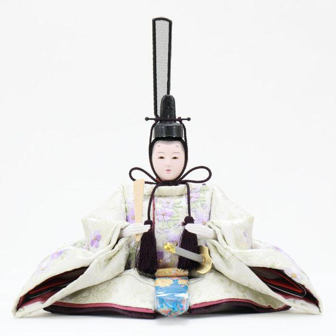 ひな人形 五人収納箱飾り 4H16-GP-027 男雛(正面)