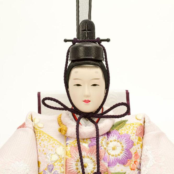 ひな人形 親王飾り 4H11-GP-043 男雛(顔)