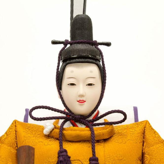 ひな人形 立雛飾り 4H13-GP-304 男雛(顔)