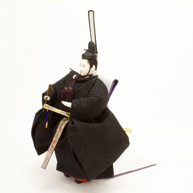 ひな人形 立雛飾り 4H13-GP-302 男雛(横)
