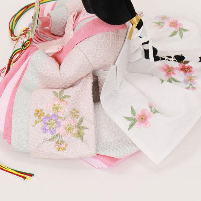 ひな人形 親王収納箱飾り 4H12-GP-070G 女雛(横)