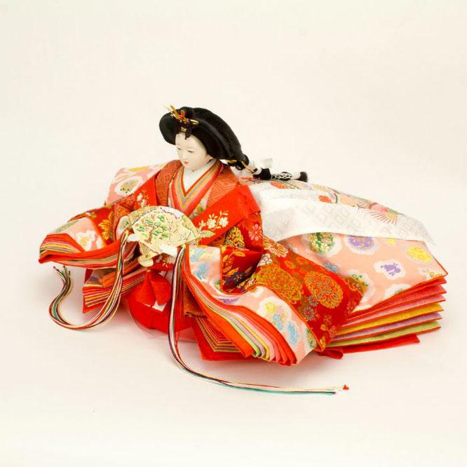 ひな人形 五人飾り 4H15-GP-001 女雛(横)