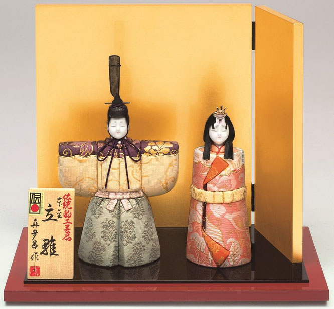 真多呂人形「本金 高円立雛セット」