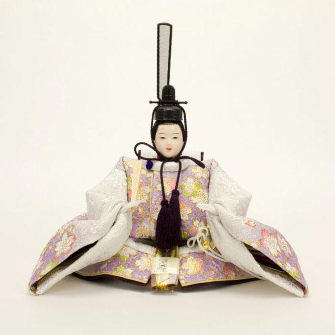 ひな人形 親王収納箱飾り 4H12-GP-072A 男雛(正面)