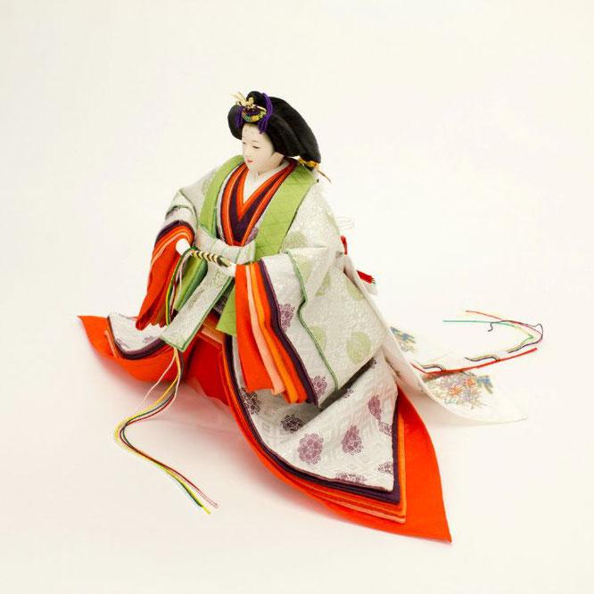 ひな人形 立雛飾り 4H13-GP-304 女雛(横)