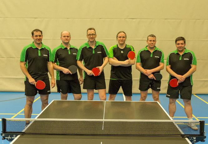 Von links: Thomas Offczorz, Mike Plesse, Thomas Bechler, Mathias Mehlhorn, Jens Preiß und Christian Offczorz