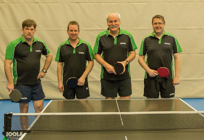 Von links: Lars Dannenbring, Volker Mau, Thomas Künning und Holger Ahrens. Es fehlt Sven Kudelka