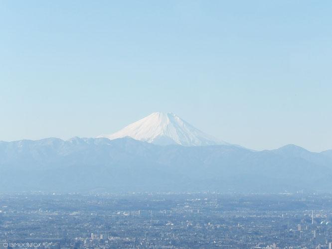Der schneebedeckte Mt. Fuji war dank Super-Zoom der Kamera auf einmal ganz nah