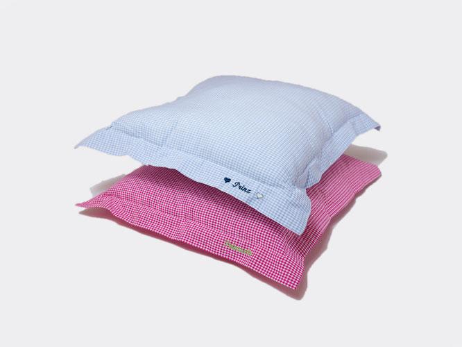 Kissen mit Füllung und Reißverschluss (50x50cm)