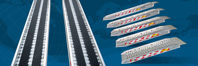 Rampe da carico in alluminio 6005 grent macchine for Rampe di carico in alluminio prezzi