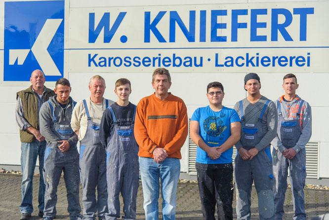 Team Lackiererei und Karosseriebau W. Kniefert